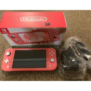 Nintendo Switch - ニンテンドースイッチライト コーラルピンク Switch Lite