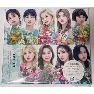 【未再生品】#TWICE3(CD+DVD)★初回限定盤B(K-POP/アジア)