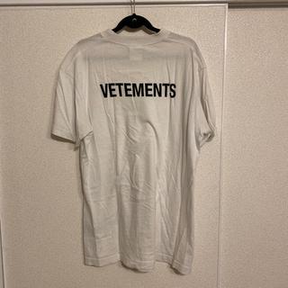 バレンシアガ(Balenciaga)のvetements バックロゴ Tシャツ(Tシャツ/カットソー(半袖/袖なし))