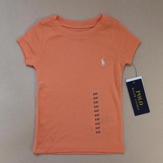 ポロラルフローレン(POLO RALPH LAUREN)の【新品】ポロラルフローレン 半袖 Tシャツ オレンジ(Tシャツ/カットソー)