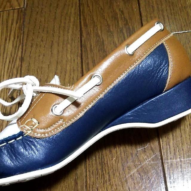 BARCLAY(バークレー)の新品未使用★BARCLY バークレー★本革ローファー パンプス★22.5cm☆ レディースの靴/シューズ(ローファー/革靴)の商品写真