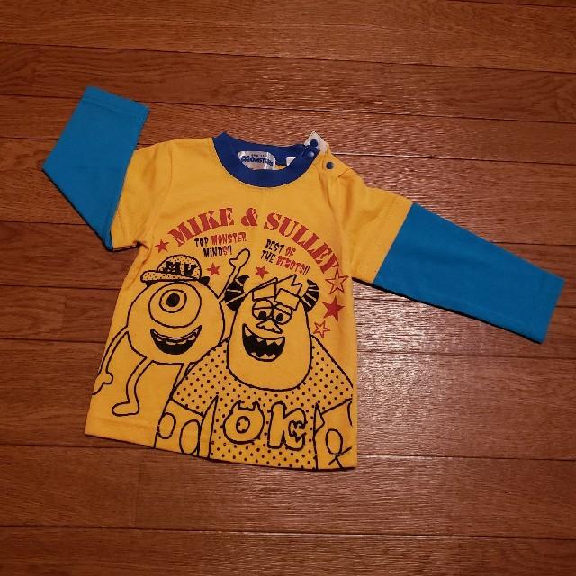 Disney(ディズニー)のディズニー モンスターズインク ロンT 90㎝ キッズ/ベビー/マタニティのキッズ服男の子用(90cm~)(Tシャツ/カットソー)の商品写真