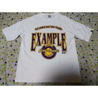 EXAMPLE Tシャツ XL 白 MFC STORE ニューエラ レイカーズ