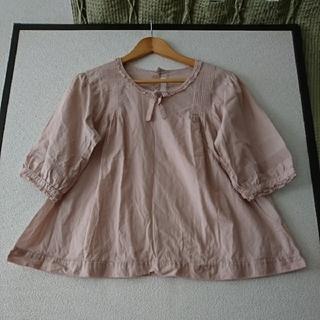 PINK HOUSE - ☆ピンクハウス☆裾ロゴ刺繍ローンブラウス