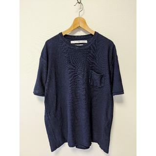 ヤエカ(YAECA)の18ss EEL craft knit イール 半袖ニットカットソー Tシャツ(Tシャツ/カットソー(半袖/袖なし))