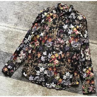 ポールスミス(Paul Smith)の溢れる高級感 Paul Smith Collection 花柄 長袖ドレスシャツ(シャツ)