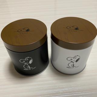 スヌーピー(SNOOPY)のスヌーピー 缶ケース ユニバーサルスタジオジャパン ×2個(小物入れ)