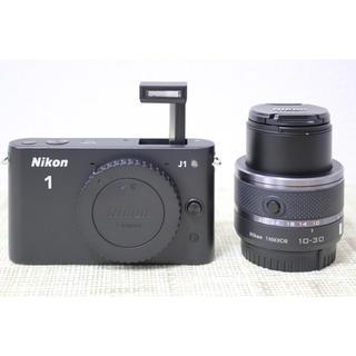 Nikon - NIKON 1 J1 ズームレンズキット BLACK