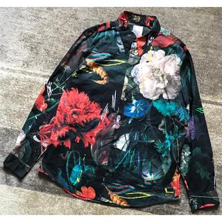 ポールスミス(Paul Smith)の最高傑作 幻想的 Paul Smith メインライン 花柄 長袖 ドレスシャツ(シャツ)