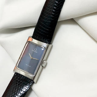 オメガ(OMEGA)のオメガ OMEGA 腕時計 時計 レディース 手巻 ブルー ネイビー シルバー(腕時計)