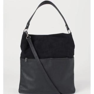 エイチアンドエム(H&M)の美品 フェイクスエード ショルダーバッグ(ショルダーバッグ)