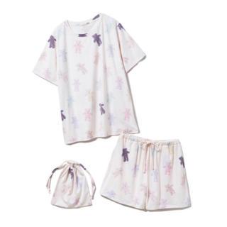 gelato pique - ジェラートピケ gelatopique ベアTシャツ&ショートパンツ&巾着SET