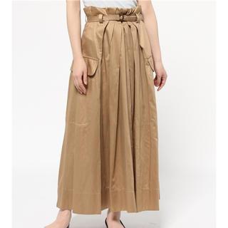 ツモリチサト(TSUMORI CHISATO)のツモリチサト  テンセルコットン ロングスカート(ロングスカート)
