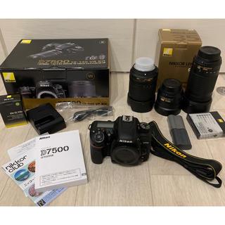 Nikon - 4年保証付き Nikon ニコン D7500 レンズキット 18-140mm