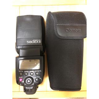キヤノン(Canon)のキヤノン speedlite 580EX II Canon スピードライト(ストロボ/照明)