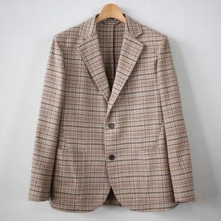 コモリ(COMOLI)のauralee silk summer tweed jacket (テーラードジャケット)