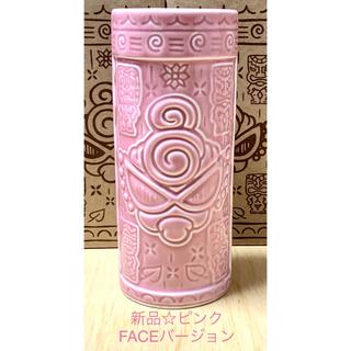 HYSTERIC MINI - ヒスミニ☆正規品☆新品☆TIKI☆マグ☆コップ☆ピンク☆陶器☆花瓶☆お箸立て