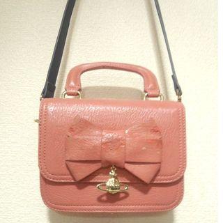 Vivienne Westwood - ヴィヴィアンウエストウッド 保存袋 オーブチャーム リボン バッグ