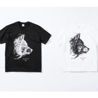 Supreme - Supreme Yohji Yamamoto Scribble Wolf Tee