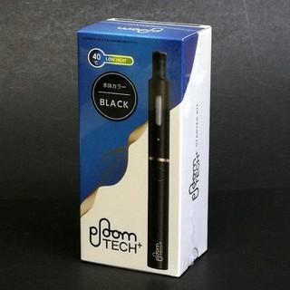 プルームテック(PloomTECH)のプルームテックプラス【BLACK】スターターキット(タバコグッズ)