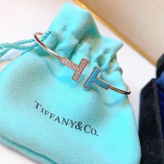 ティファニー(Tiffany & Co.)のTiffany ティファニー tワイヤーブレスレット(ブレスレット)