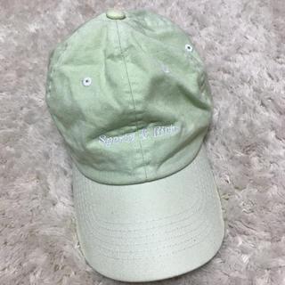 ビューティアンドユースユナイテッドアローズ(BEAUTY&YOUTH UNITED ARROWS)の中古 Sporty & Rich パステルグリーンキャップ 帽子(キャップ)