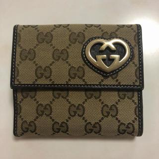 Gucci - GUCCI レディース 折財布 GGハート