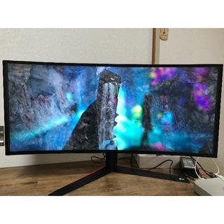 LG Electronics - 34インチ 21:9 LG ゲーミングモニター 34GK950F