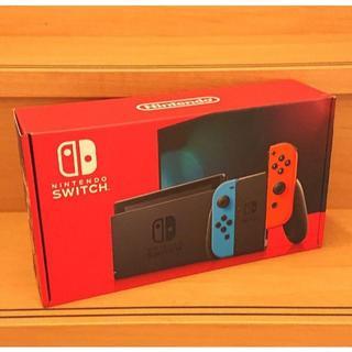 任天堂スイッチ Nintendo Switch 本体 モデル ネオンブルー