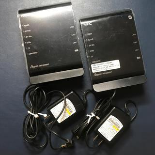 エヌイーシー(NEC)のAterm WG1200HP イーサネットコンバータセット(PC周辺機器)