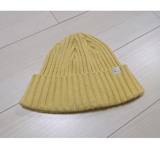 デラックス(DELUXE)の美品!DELUXEのニット帽(ニット帽/ビーニー)