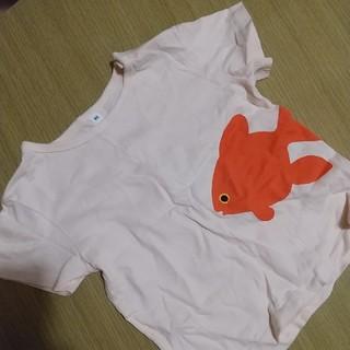 ムジルシリョウヒン(MUJI (無印良品))の無印良品 金魚Tシャツ(Tシャツ/カットソー)