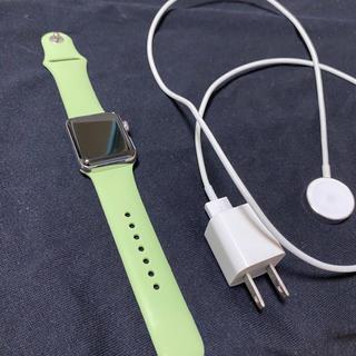 アップルウォッチ(Apple Watch)のアップルウォッチ シリーズ3 ステンレス 38mm(腕時計(デジタル))
