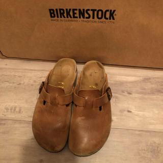 ビルケンシュトック(BIRKENSTOCK)のビルケンシュトック ボストン アンティークレザー ♡(スリッポン/モカシン)