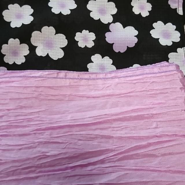 浴衣☆女の子 キッズ/ベビー/マタニティのキッズ服女の子用(90cm~)(甚平/浴衣)の商品写真