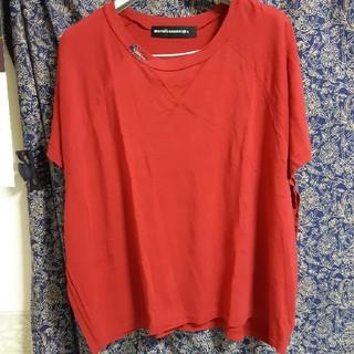 メルシーボークー(mercibeaucoup)の美品!メルシーボーク ゆったりカットソー(Tシャツ(半袖/袖なし))