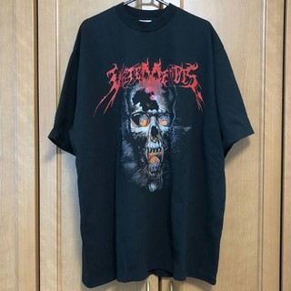 Balenciaga - vetementsスカル Tシャツ