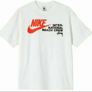 ステューシー(STUSSY)のStussy NIKE Tシャツ XL白 ナイキ ステューシー ベナッシ(Tシャツ/カットソー(半袖/袖なし))