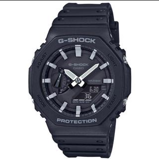 ジーショック(G-SHOCK)のG-SHOCK GA-2100-1A1JF カーボンコアガード  黒×白(その他)