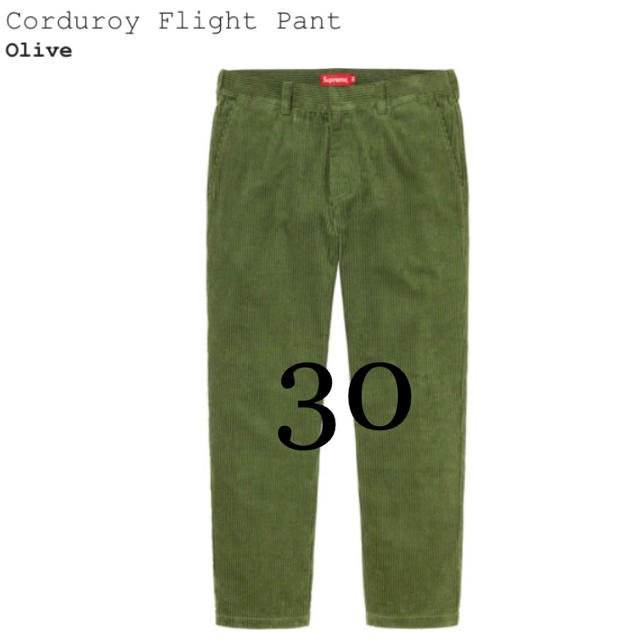 Supreme(シュプリーム)の30 Supreme Corduroy Flight Pant コーデュロイ メンズのパンツ(ワークパンツ/カーゴパンツ)の商品写真
