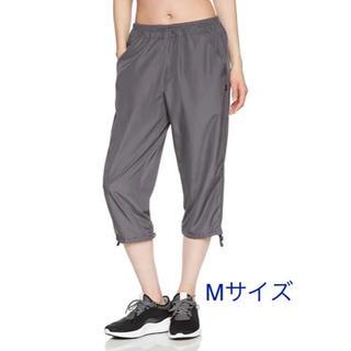 アツギ(Atsugi)の新品 アツギ  UVカット7分丈ポケット付パンツ Mサイズ グレー(トレーニング用品)