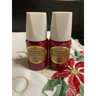 クリスチャンディオール(Christian Dior)のDiorクリスチャンディオール  マニキュアポリッシュカラー2本セット(マニキュア)