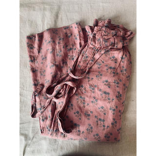 mother - mother flower pants