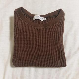 コドモビームス(こどもビームス)のeastendhighlanders 120cm ワッフル Tシャツ(Tシャツ/カットソー)