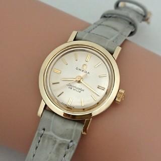 オメガ(OMEGA)のOH済 1962年製 オメガシーマスター デビル レディース 手巻き ゴールド(腕時計)