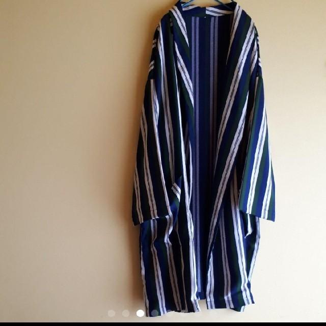 HARE(ハレ)のHARE クレイジーランダムストライプガウン メンズのジャケット/アウター(その他)の商品写真