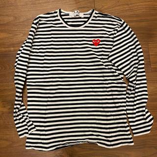 コムデギャルソン(COMME des GARCONS)のplay comme des garcons ロンT(Tシャツ(長袖/七分))