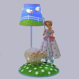 ディズニー(Disney)のディズニーストア トイストーリー ボーピープの羊 ボーピープ ランプ ライト(テーブルスタンド)