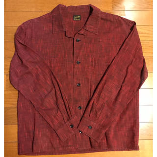 テンダーロイン(TENDERLOIN)のTENDERLOIN テンダーロイン オープンカラーシャツ レッド(シャツ)