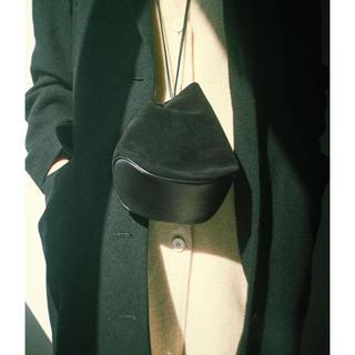 プラージュ(Plage)の新作 MARROW MINI CRADLE  ショルダーバッグ 巾着 黒(ショルダーバッグ)